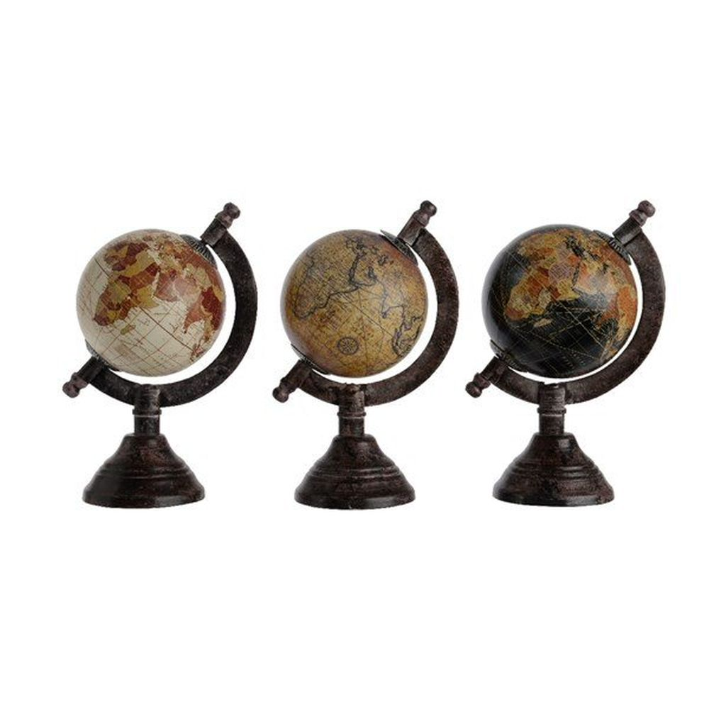 Kaemingk 8cm Globe on Iron Stand (Choice of 3)