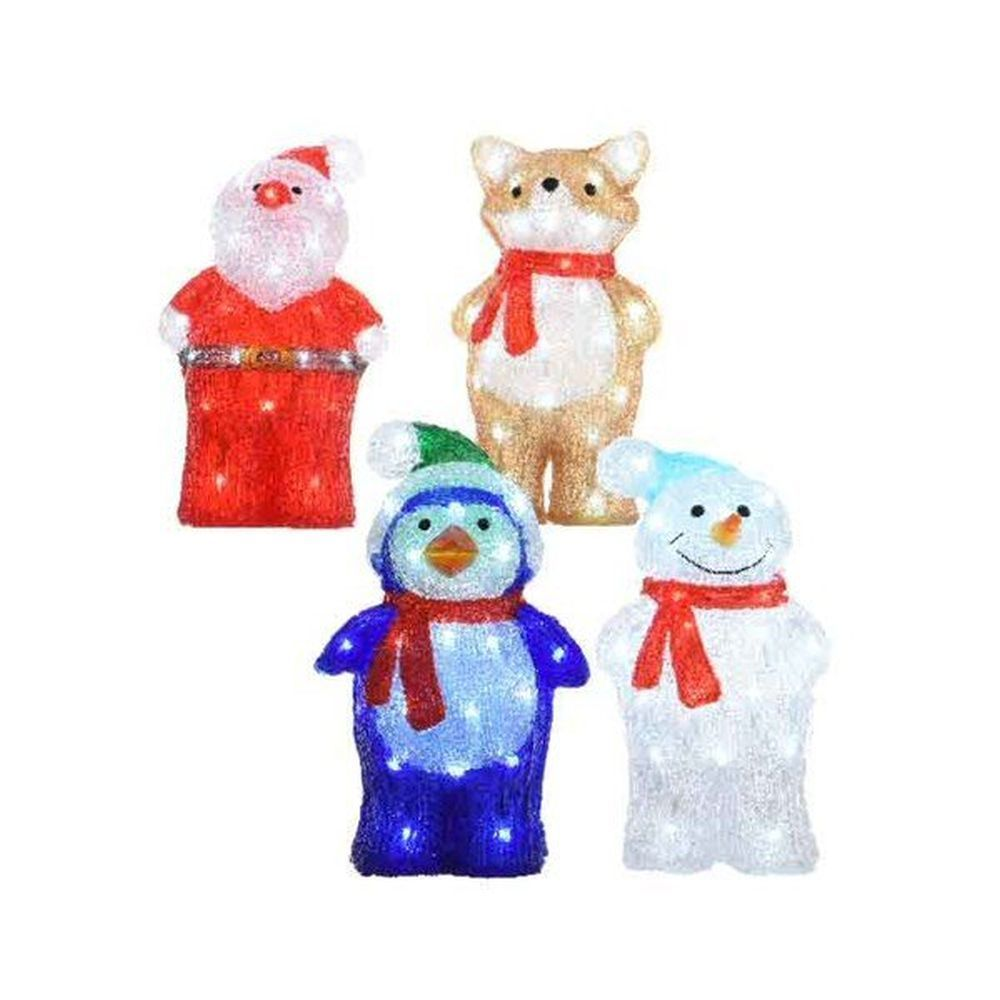 Lumineo 34cm Cool White LED Christmas Figure (Choice of 4)