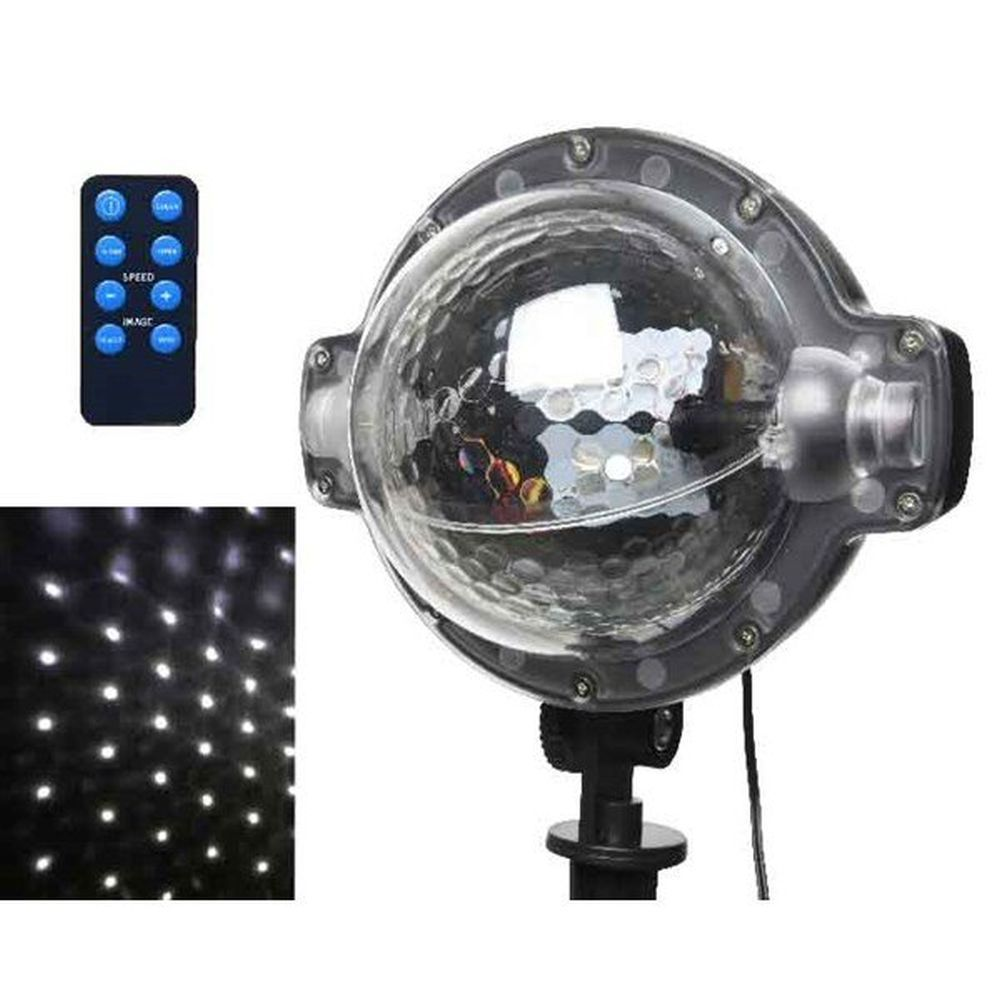 Lumineo 40cm LED Snowflake Projector