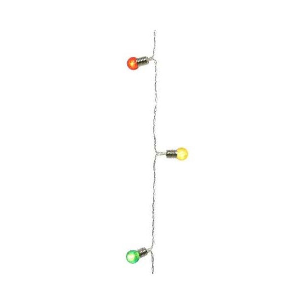 Lumineo Battery Operated LED Mini Bulb String Lights (190cm)
