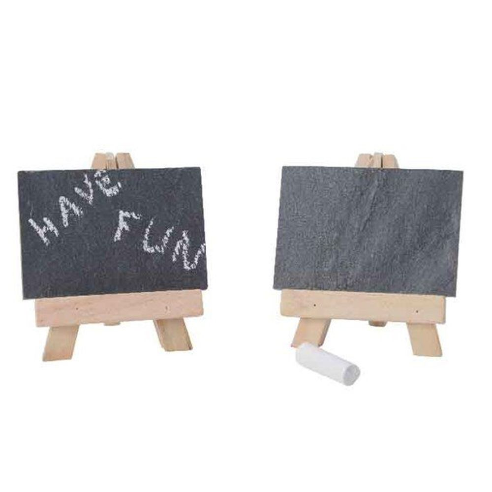 Kaemingk Slate Backboards with Bamboo Stand