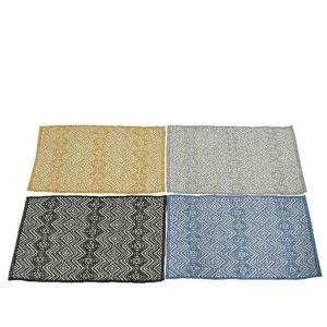 Kaemingk 80cm Cotton Graphic Rug (Choice of 4)