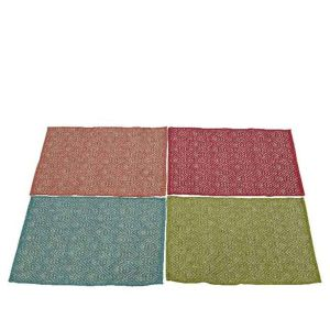 Kaemingk 80cm x 50cm Cotton Graphic Rug (Choice of 4)