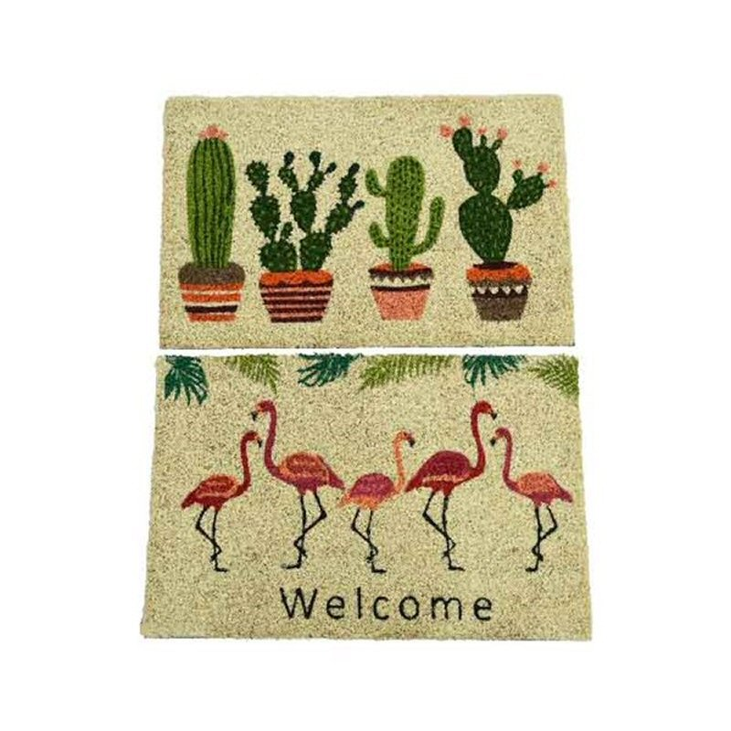 Kaemingk 60cm Coir Printed Doormat (Choice of 2)