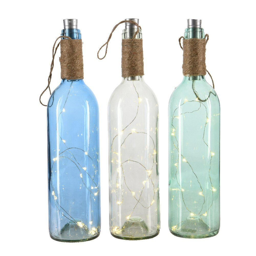 Kaemingk Choice of 3 Battery Operated LED Wine Bottle