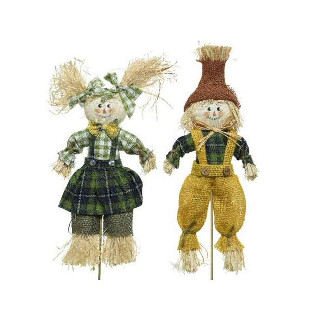 Kaemingk 37cm Sisal Scarecrow (Choice of 2)