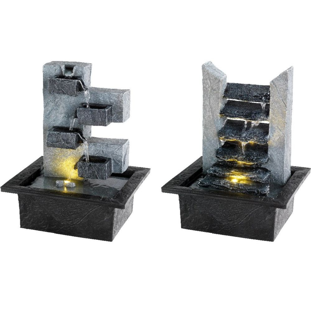 Kaemingk 27cm LED Rock Fountain - Choice of 2