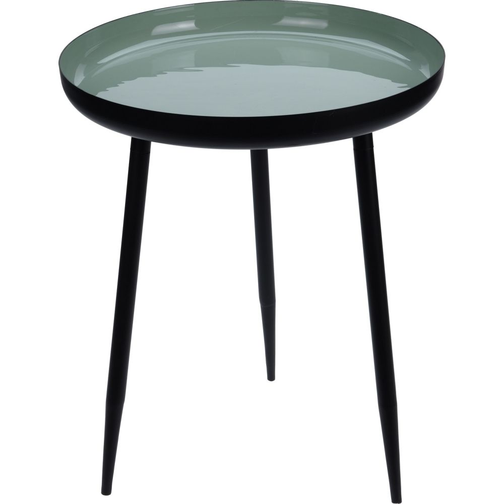 Table Round 45cm Green