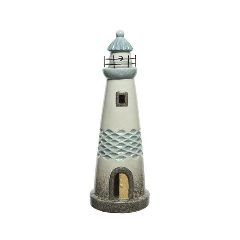 Kaemingk 32.5cm Terracotta Lighthouse Ornament