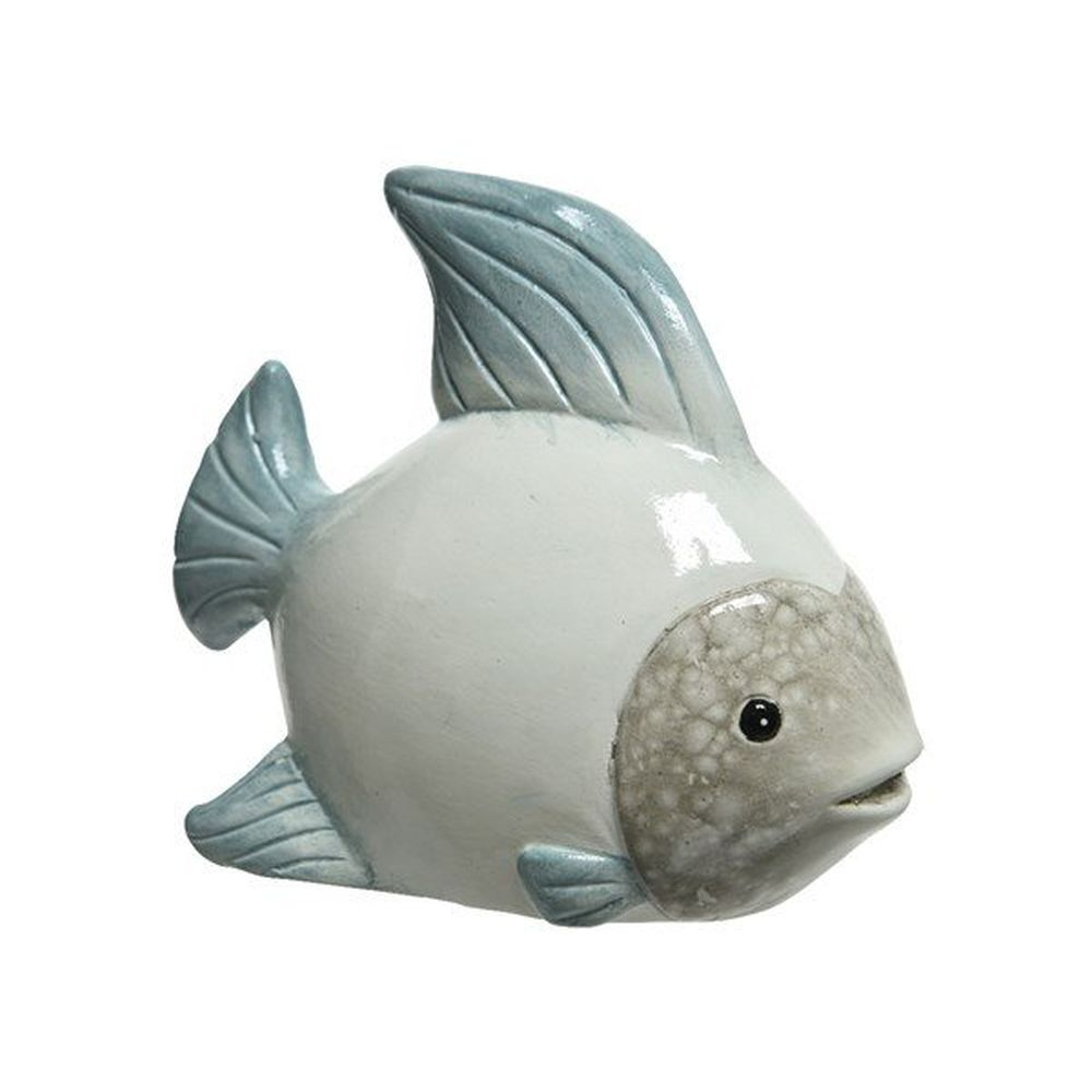 Kaemingk 20cm Terracotta Fish Ornament