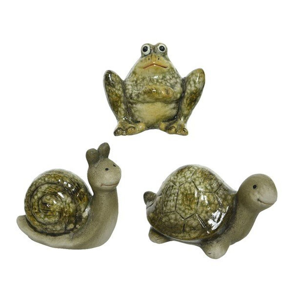 Kaemingk Green Terracotta Animal (Choice of 3)