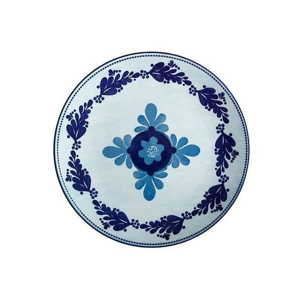 Maxwell & Williams Majolica 26.5cm Sky Blue Dinner Plate