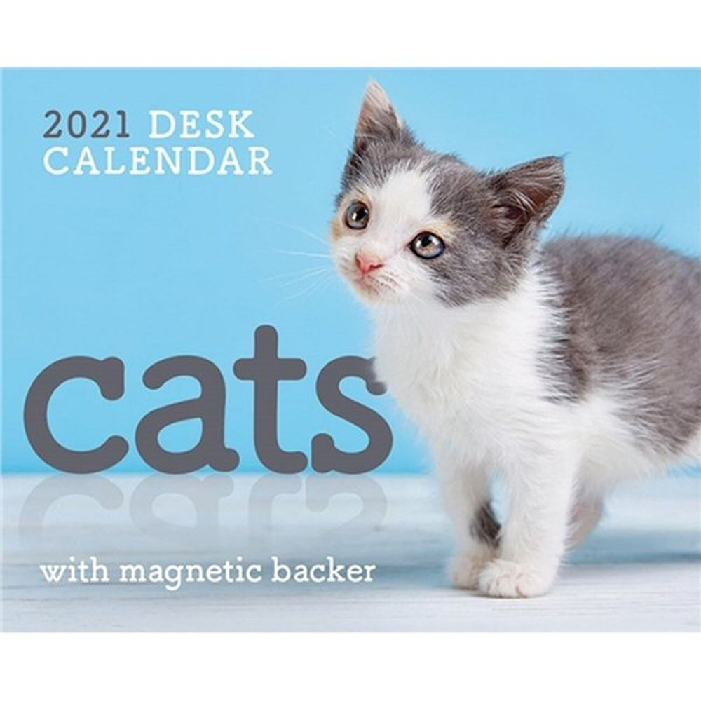 2021 Cats Mini Box Calendar