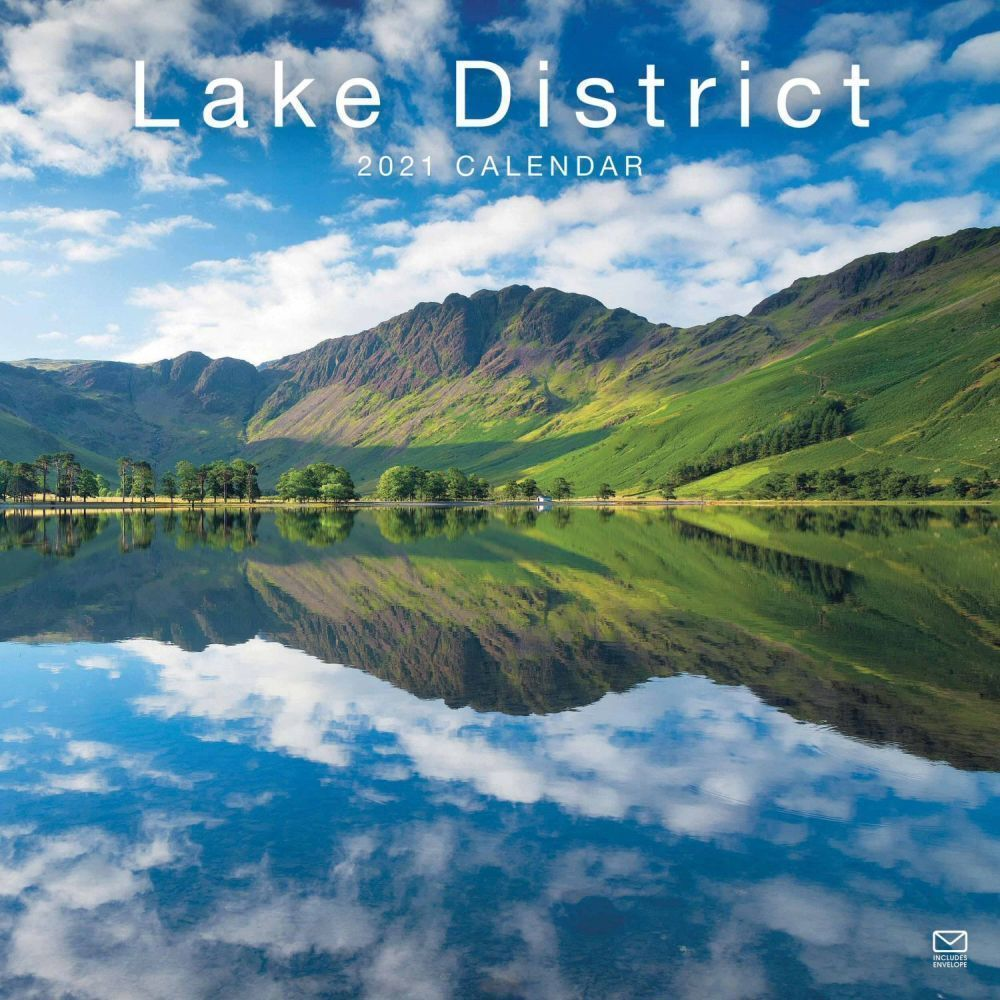 Lake District 2021 Wall Calendar