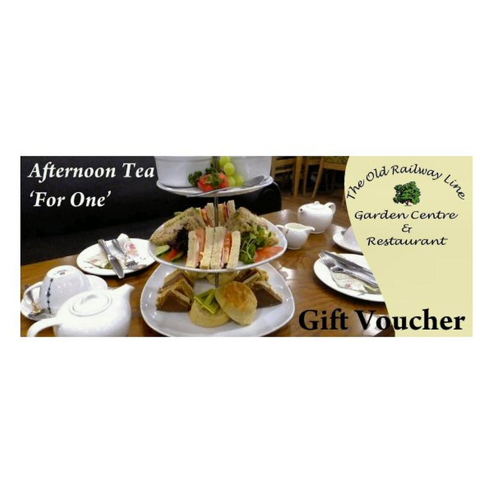 'Afternoon Tea For Two' Gift Voucher